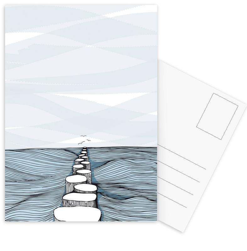 Something Calm Postcard Set