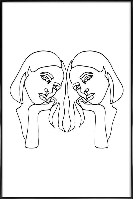 Cathy Framed Poster