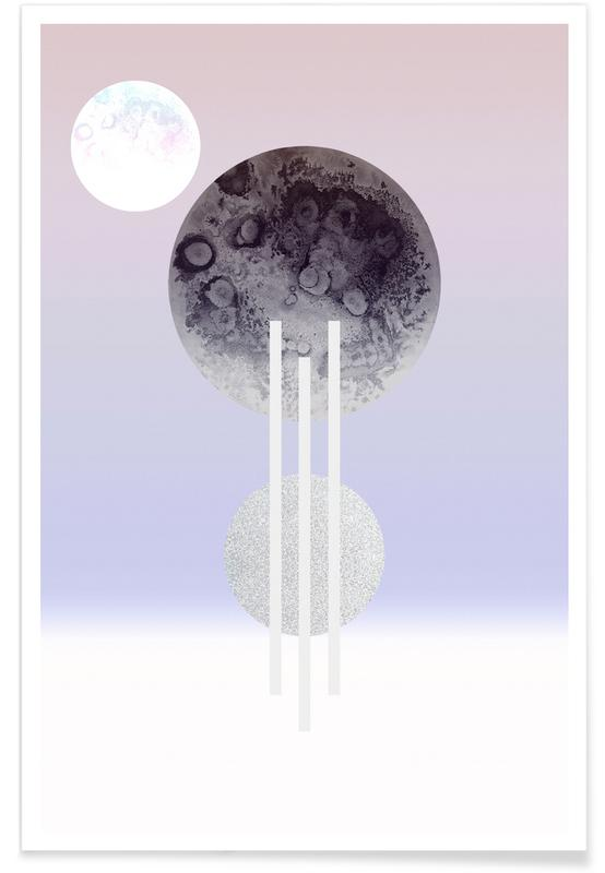 Dream of the Glitter Moon -Poster