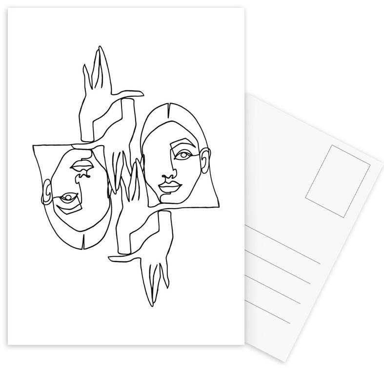 Mila -Postkartenset