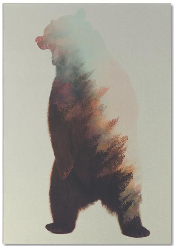 Norwegian Woods: Roaring Bear -Notizblock