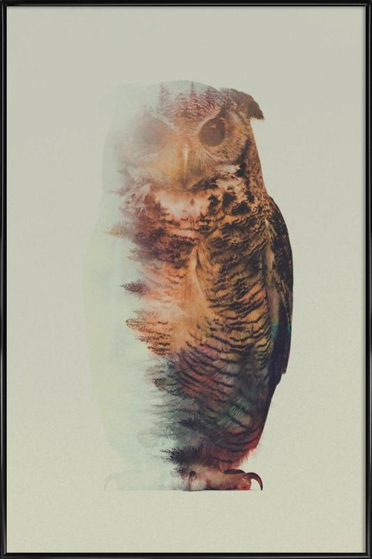 Norwegian Woods: The Owl Framed Poster