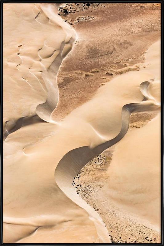 Shark Bay 1 -Bild mit Kunststoffrahmen