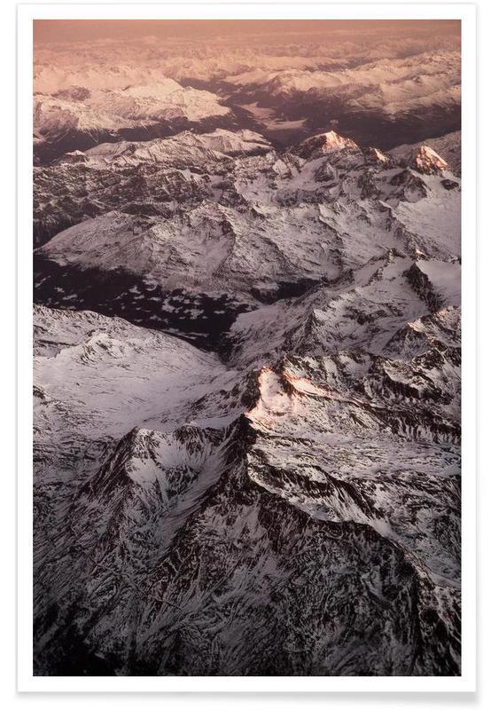 Pink Mountains -Poster
