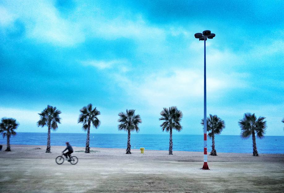 Costa Brava Beach alu dibond
