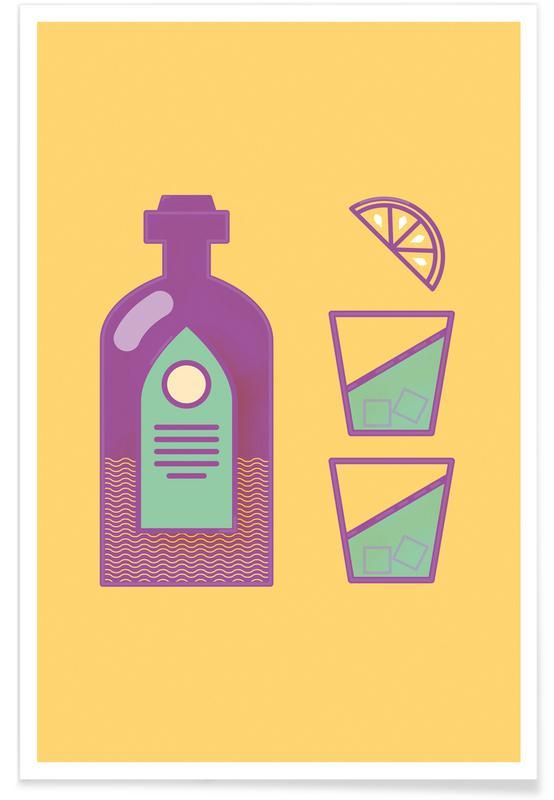 Sternschanze Drinks Premium Poster