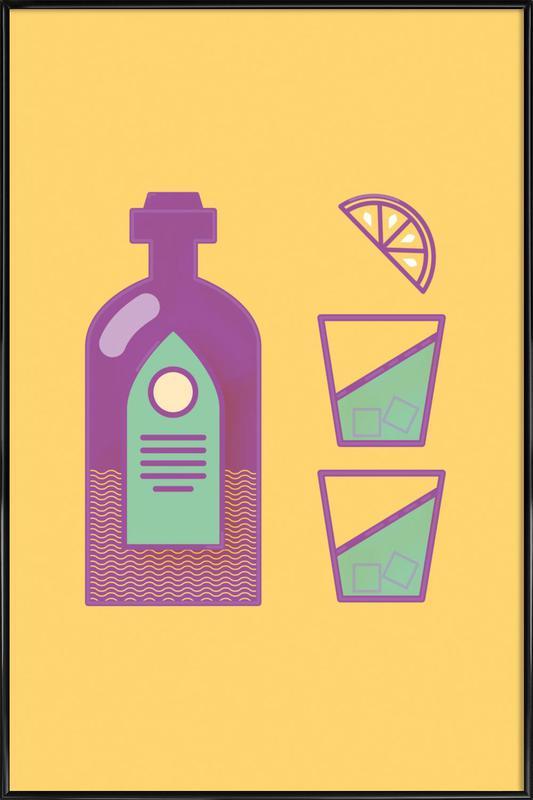 Sternschanze Drinks Gerahmtes Poster