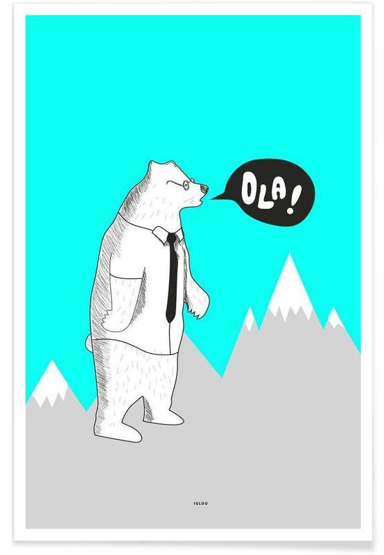 Ola Premium Poster | Dekoration > Bilder und Rahmen > Poster | Mehrfarbig