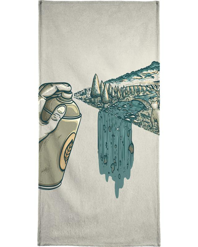 Nature Can Bath Towel