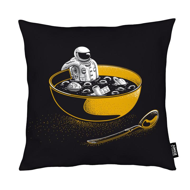 Space Flakes coussin