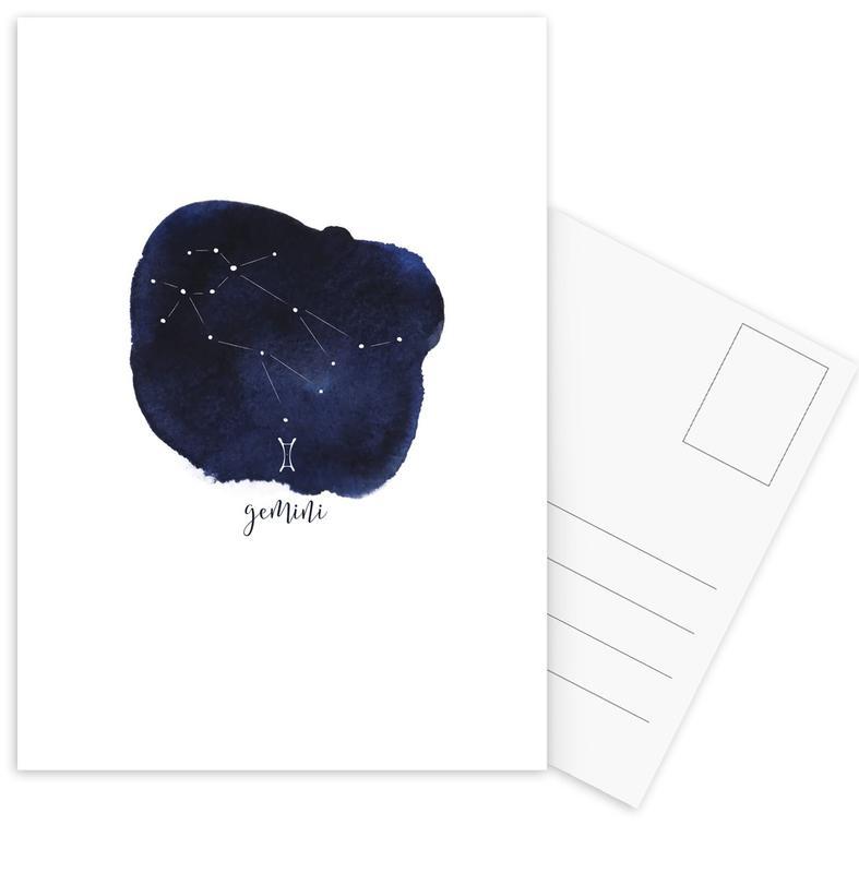 Gemini -Postkartenset