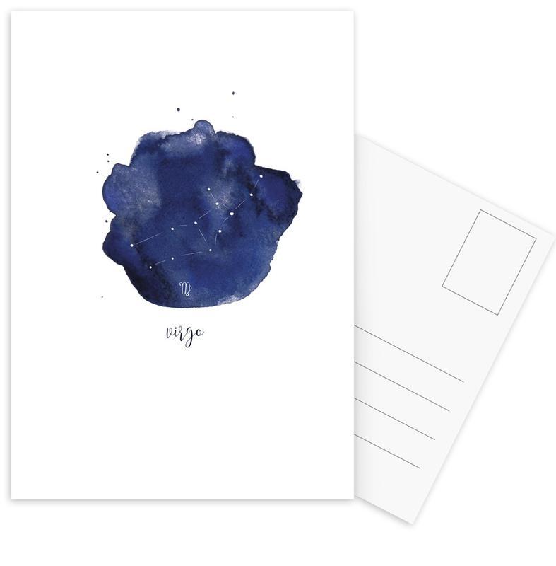 Virgo -Postkartenset
