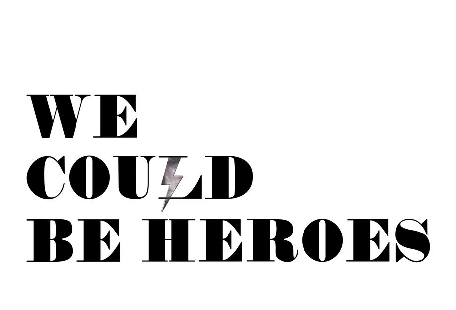 Heroes Alu Dibond Druck
