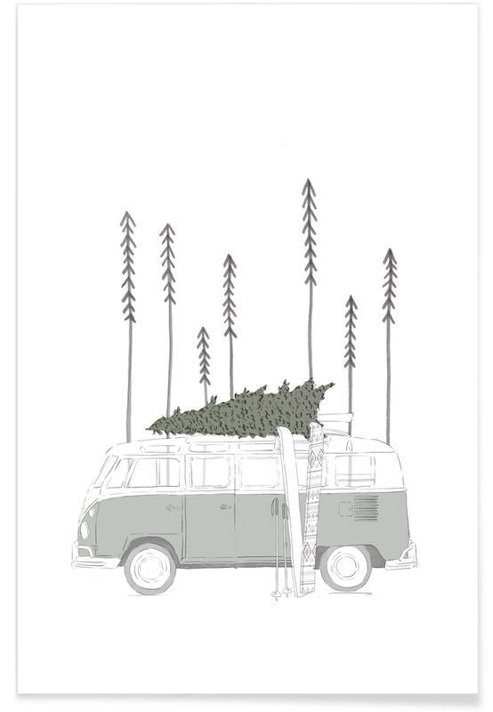 Winter Van -Poster