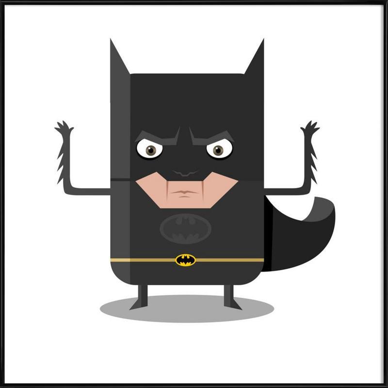 Batman affiche encadrée