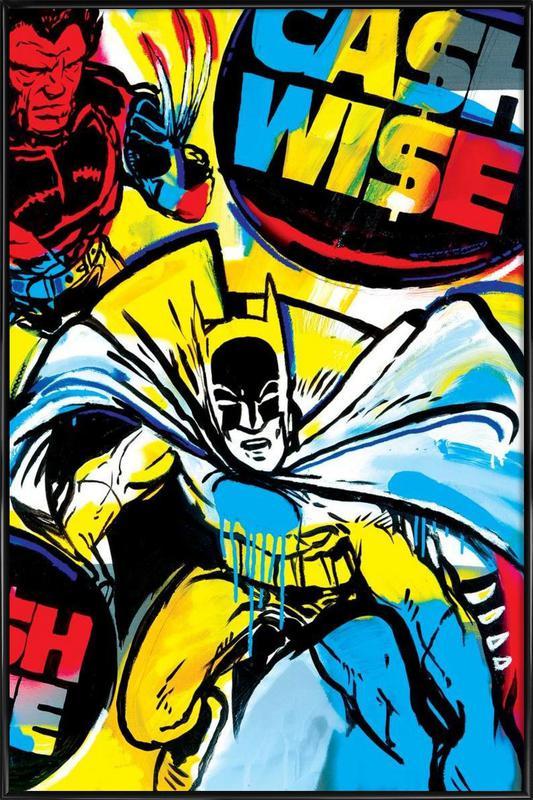 Cash Wise Framed Poster