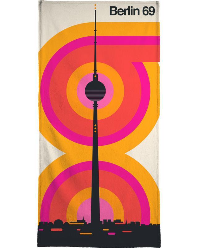 Berlin 69 serviette de bain