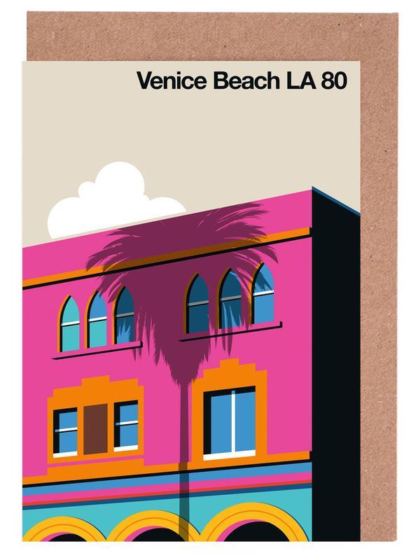Venice LA 80 Greeting Card Set