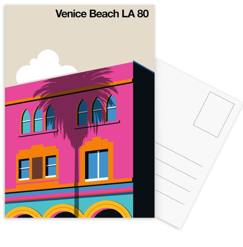 Venice LA 80 -Postkartenset