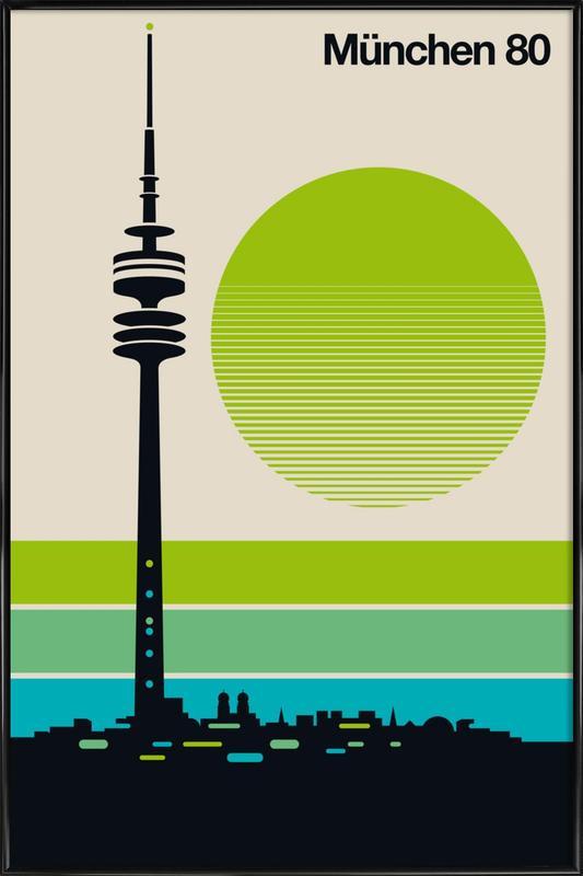 München 80 Framed Poster