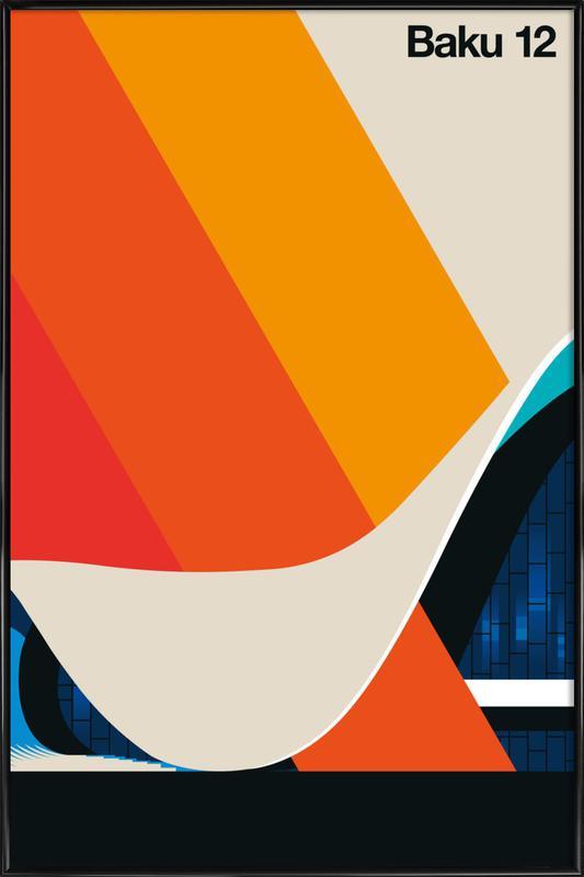 Baku 12 Framed Poster