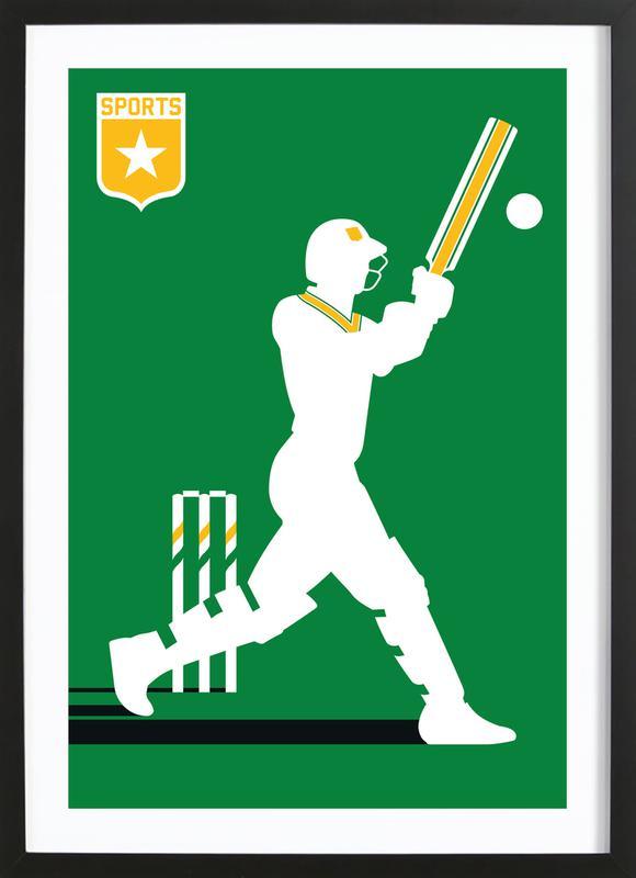 Cricket Framed Print