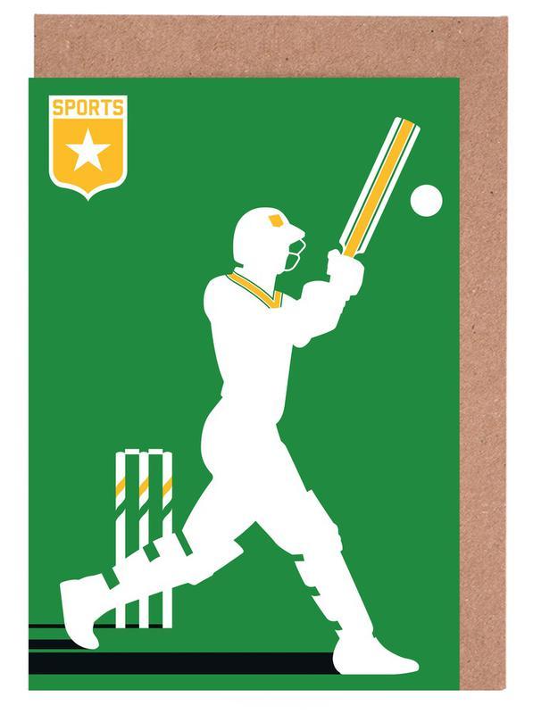 Cricket Greeting Card Set