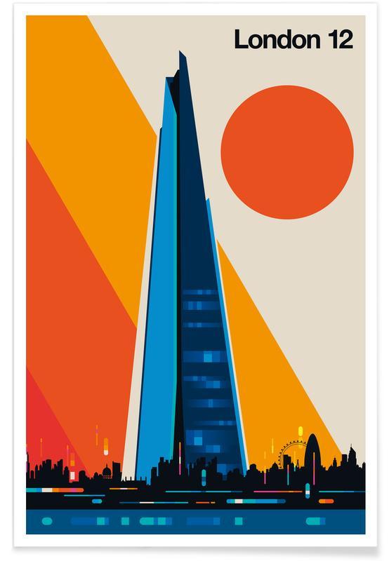 London 12 poster
