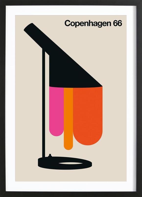 Copenhagen 66 Framed Print