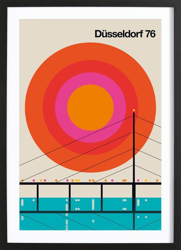 Düsseldorf 76 Framed Print
