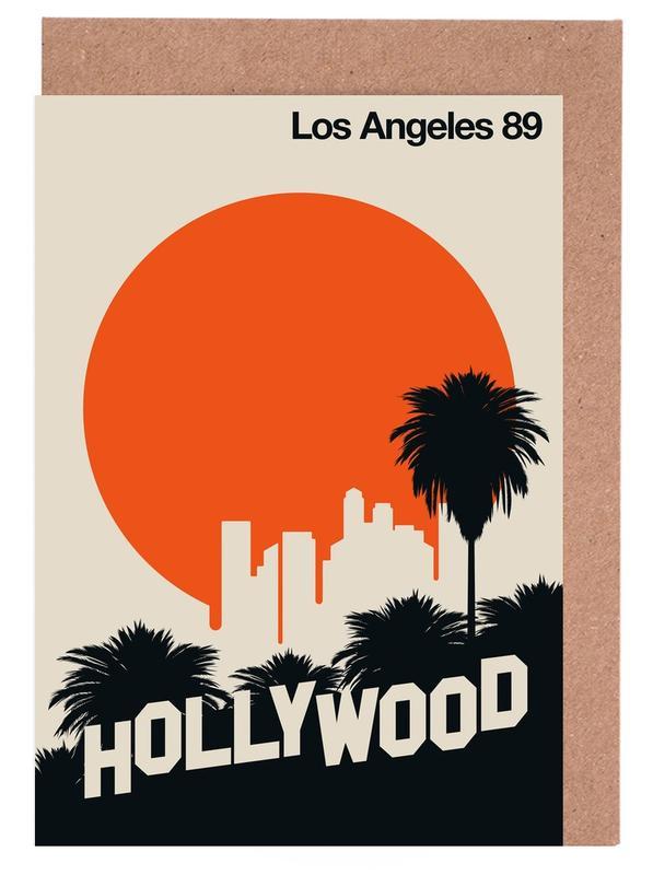 Los Angeles 89 -Grußkarten-Set