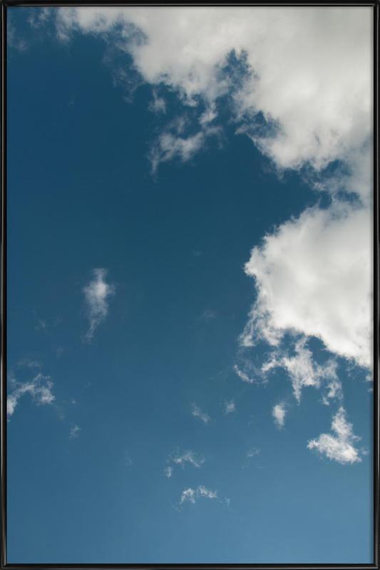 Sky Diving Framed Poster