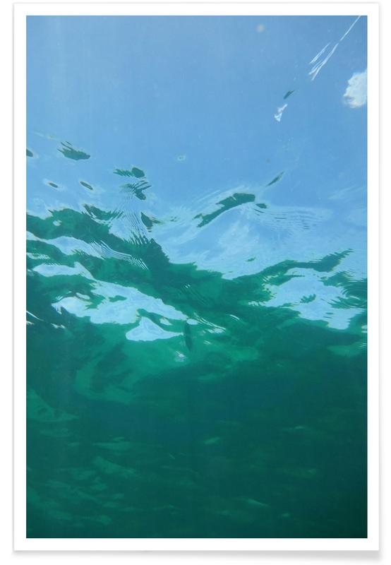 While Diving -Poster