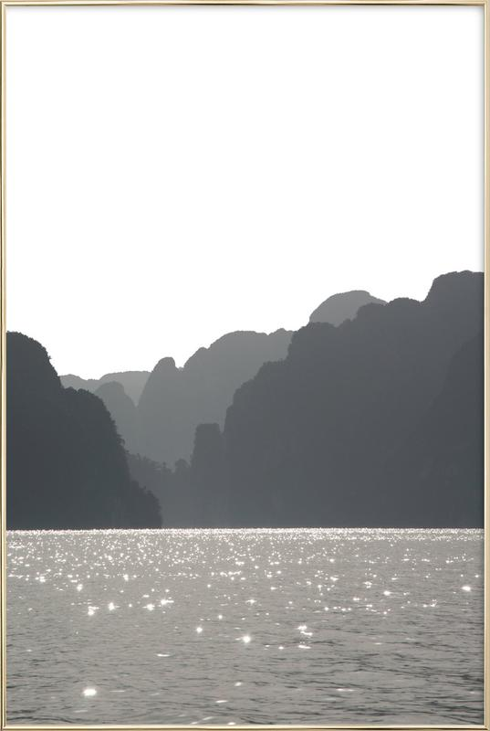 Shades and Shadows poster in aluminium lijst