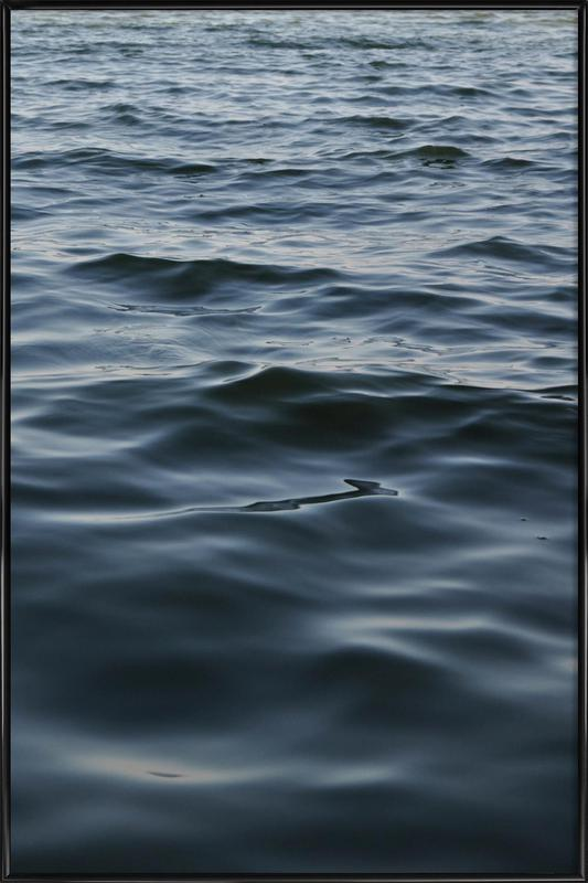 Feet In The Water Framed Poster