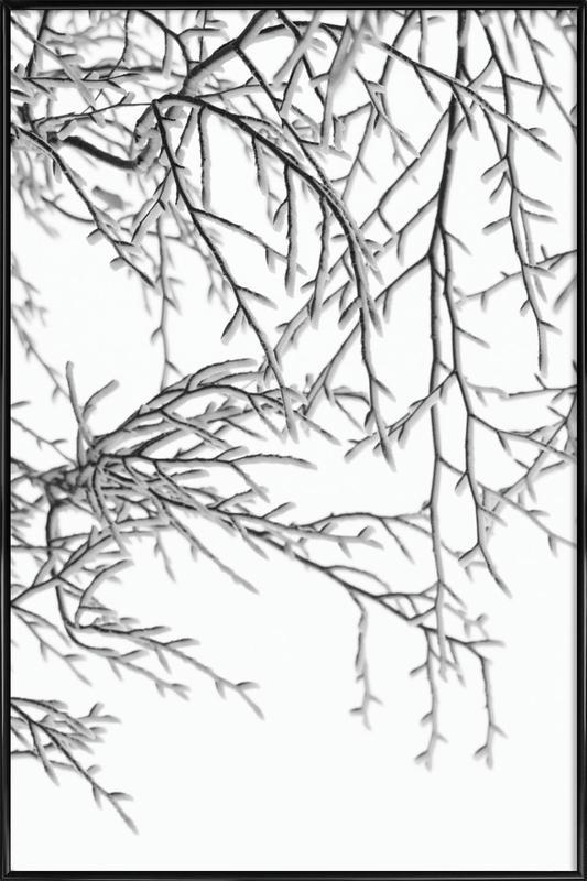 Snowy Days Framed Poster