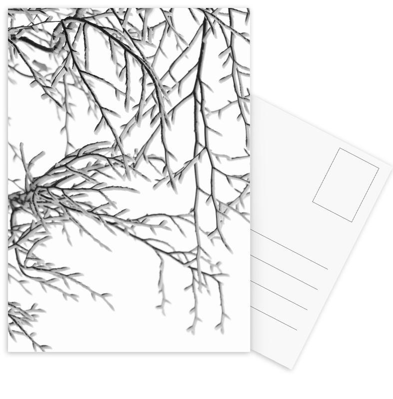 Snowy Days Postcard Set