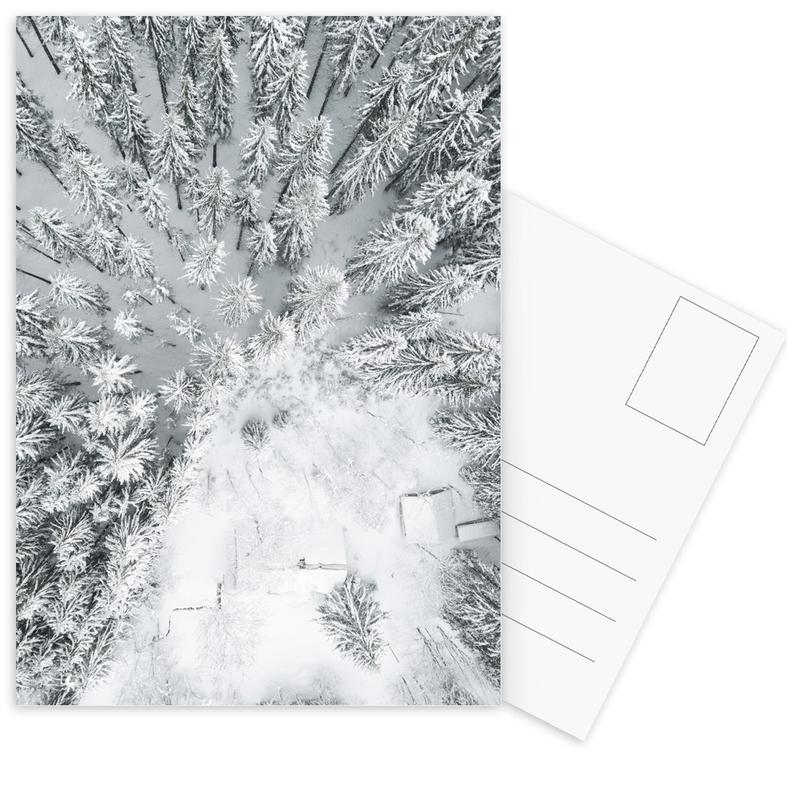Calm Winter -Postkartenset