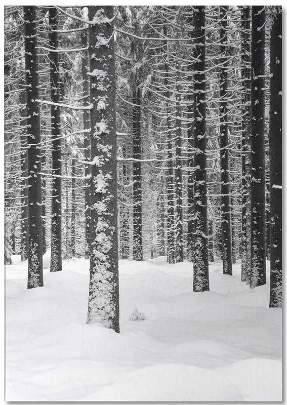 Deep Dark White Forest -Notizblock