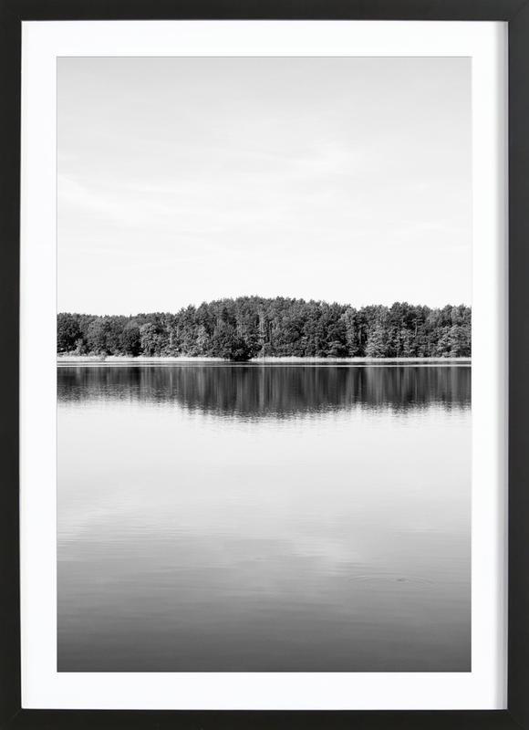 Calm Water ingelijste print