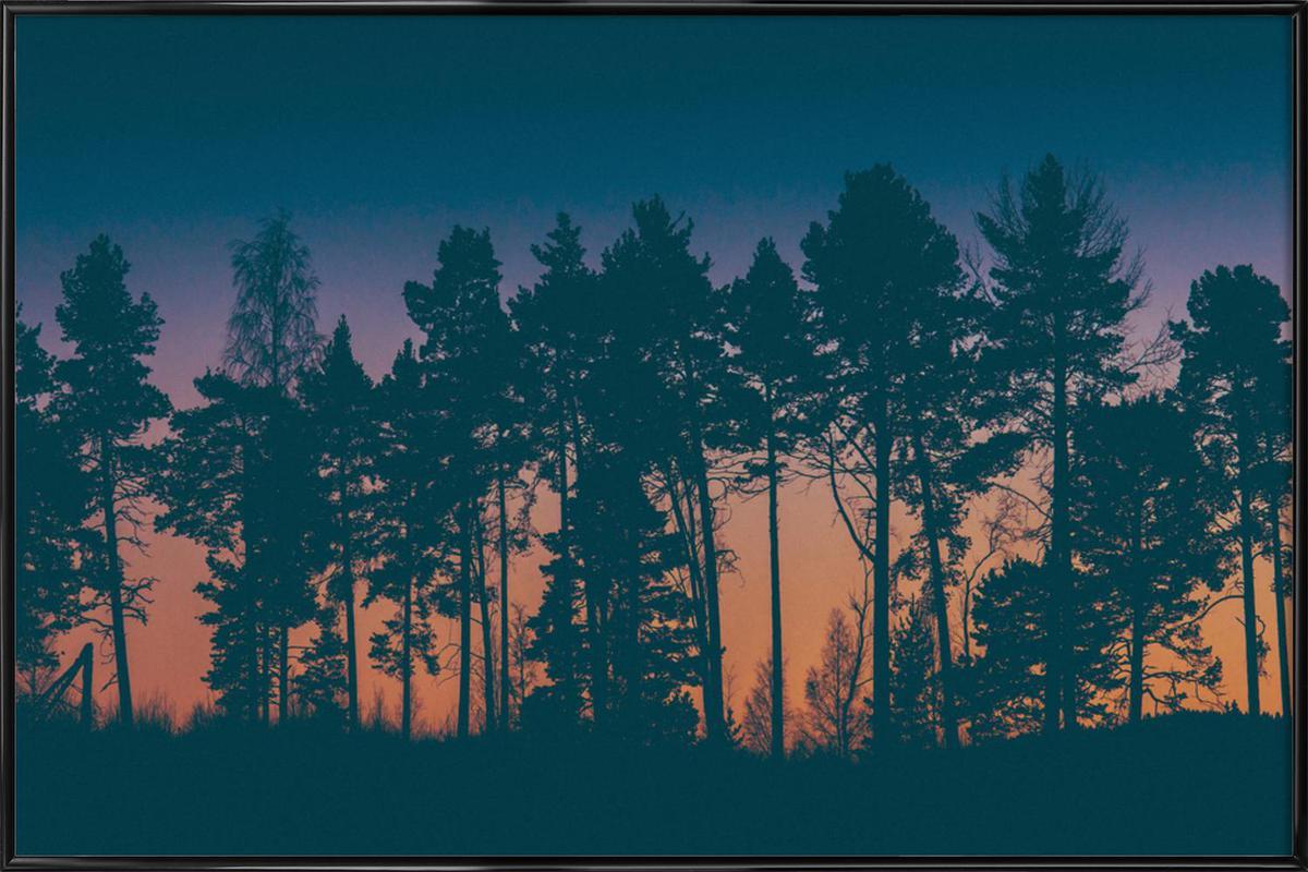 The Dawn -Bild mit Kunststoffrahmen