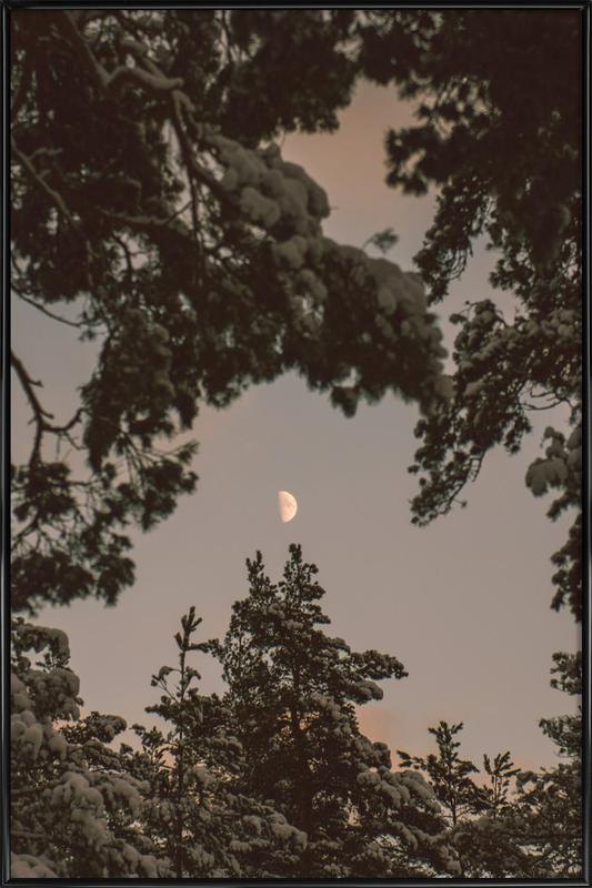 The Moon Framed Poster