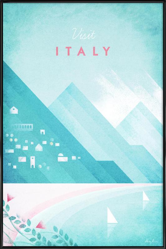 Italy Framed Poster
