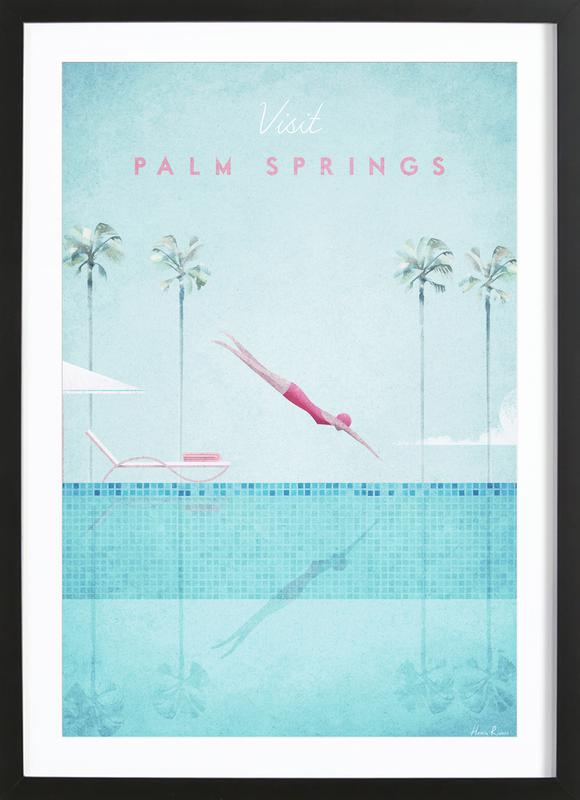 Palm Springs Framed Print