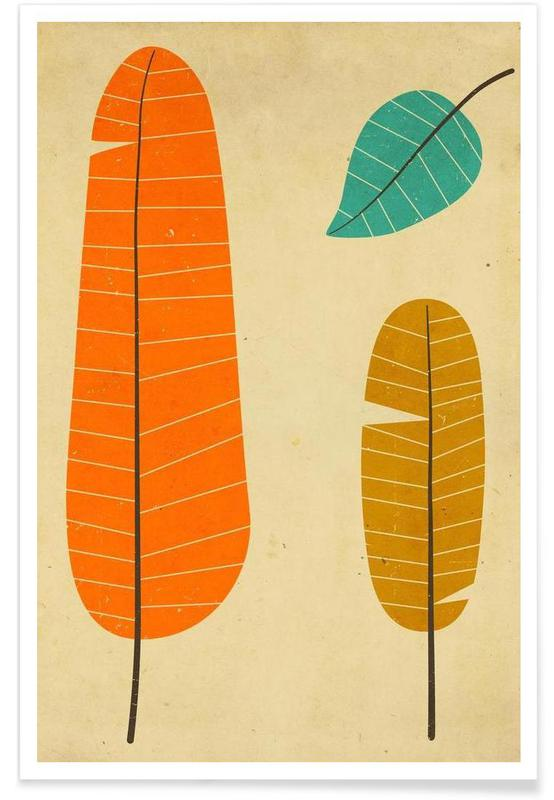 3 leaves -Poster