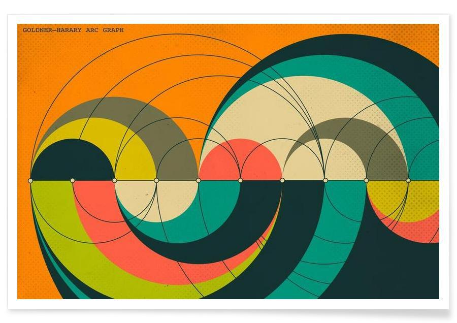 Goldner-Harary Graph Poster