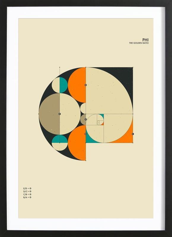 Phi Framed Print