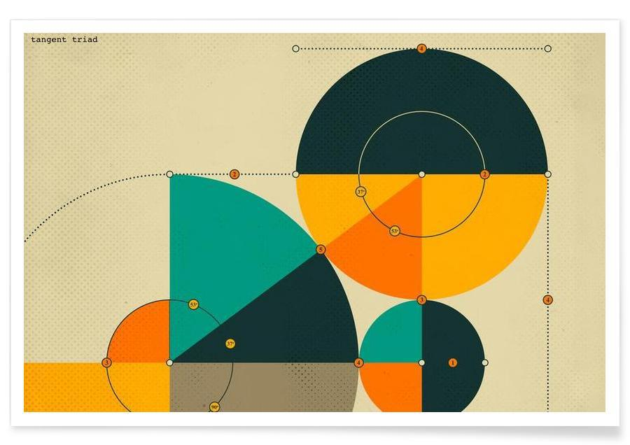 Tangent Triad Poster