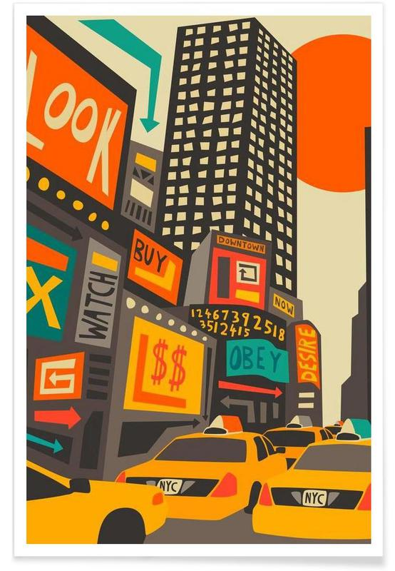 Time Square day -Poster