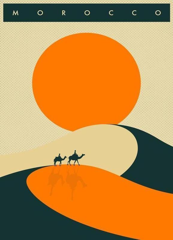 Morocco Leinwandbild